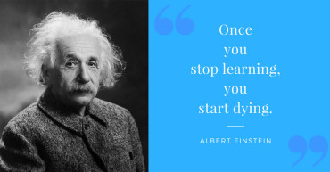 Einstein Quote Re Learning