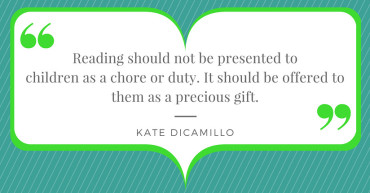 Kate DiCamillo Quote Re: Reading