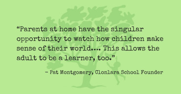 Pat Montgomery Quote Re: Parents