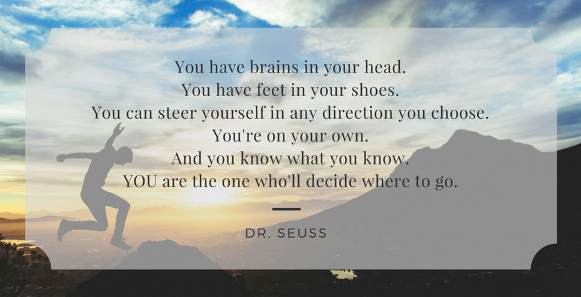 Dr. Seuss Quote-You Are the One