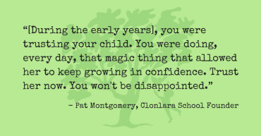 Pat Montgomery Quote Re: Trust