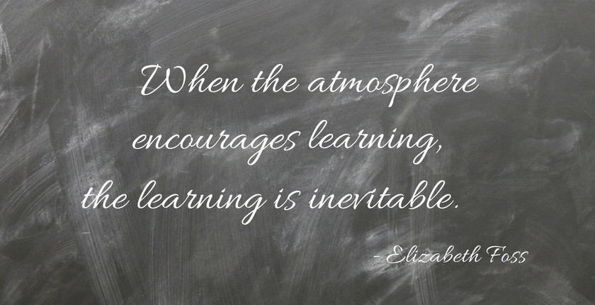 Elizabeth Foss Quote Re: Learning