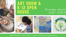 Art Show & K-12 Open House
