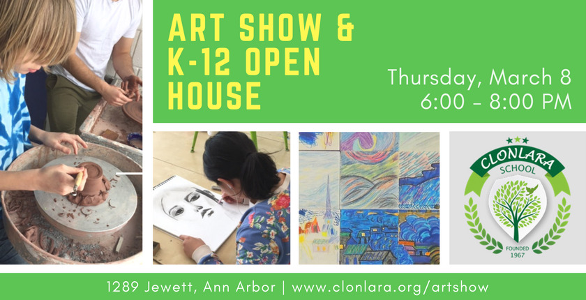 Art Show & K-12 Open House