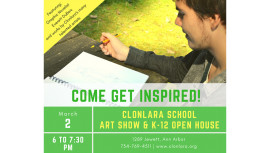 Art Show and K-12 Open House Invite - March 2017 - Website v2