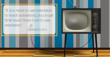 Umberto Eco Quote Re: Television
