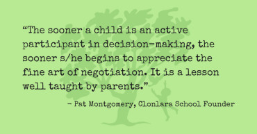 Pat Montgomery Quote Re: Negotiation