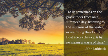 John Lubbock Quote Re: Summer