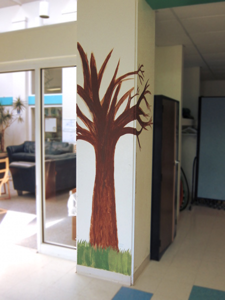 Clonlara School Entryway Tree 2-27-18